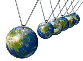 pendulum market economy world china europe globe trade stock share