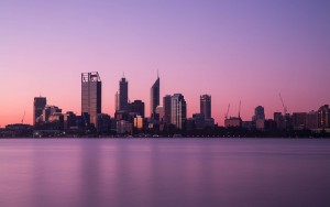Perth property skyline