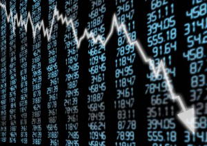 stock market crash money decline world economy