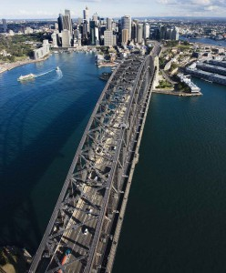 sydney job car traffic work congestion road bridge