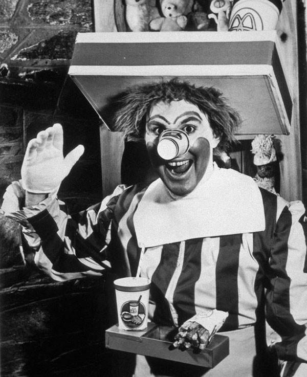 18. The original Ronald McDonald played by Willard Scott