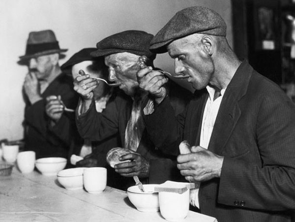 27. Bread and soup during the Great Depression