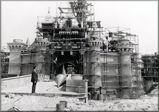 33. The construction of Disneyland