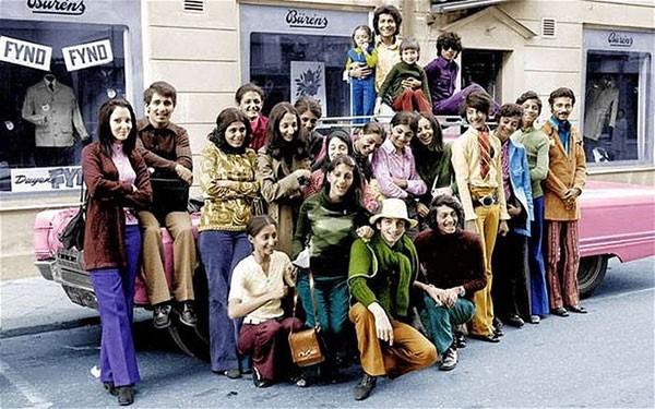 35. 14-year-old Osama bin Laden (2nd from the right)