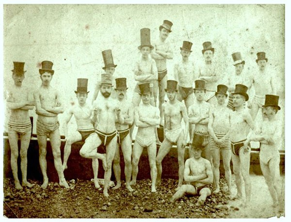 45. Brighton Swimming Club in 1863