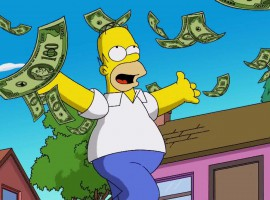 10 Personal Finance Tips from the Simpsons [infographic]