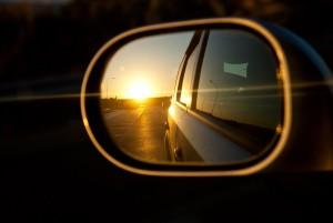 car blind spot light drive freedom weekend fun traffic congestion travel