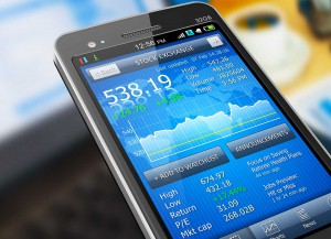 stock market money app techonology smart phone learn invest