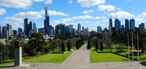 melbourne victoria city urban