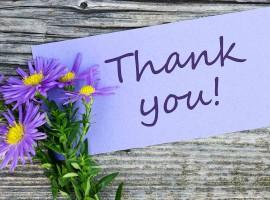 thank you grateful appreciate happy thankful kind life