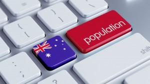 28856067 - australia high resolution population concept