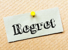 Is it possible to live a life without regrets? [infographic]
