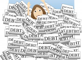 4 steps to getting out of debt
