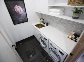 THE BLOCK: Powder Room, Laundry & Entry Reveals