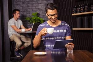 "Where it's ""at"" – the café culture"