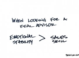 How Well Does Your Advisor Handle Uncertainty?