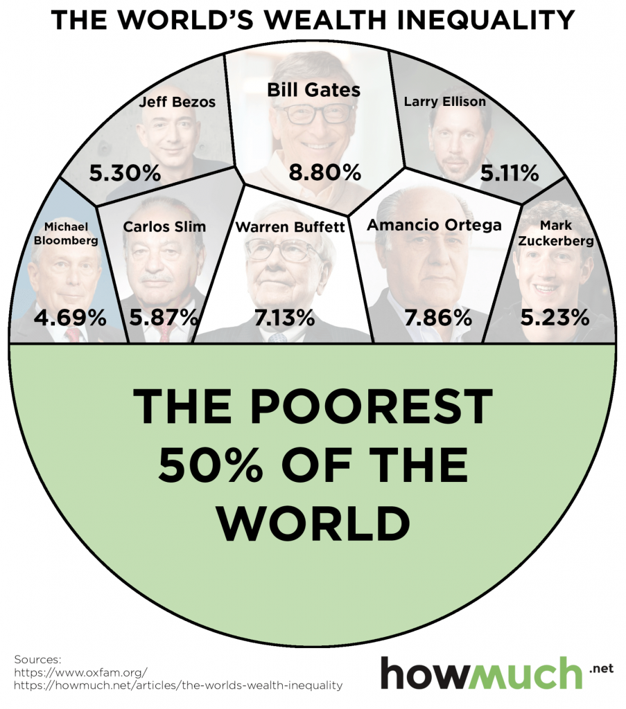 world wealth inequality