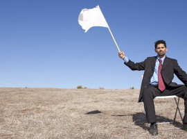 Raising the White Flag | What to do when you can't repay your debts