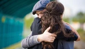 Hug Forgive Couple Love Marriage Relationship Man Woman Embrace 300x200