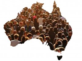 One person is moving to Australia every MINUTE. There will be 25 million of us today.