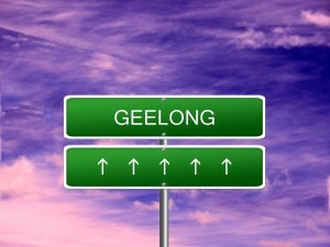 Geelong City Australia Sign