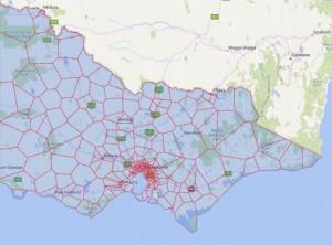 Melbourne Schoole Zones