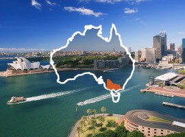 Here's where Australia fits in with the rest of the world [Infographic]