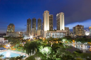 City Scape In Bangkok