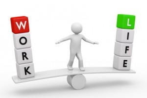 Work Life Balance 3d