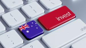 Australia Invest Concept