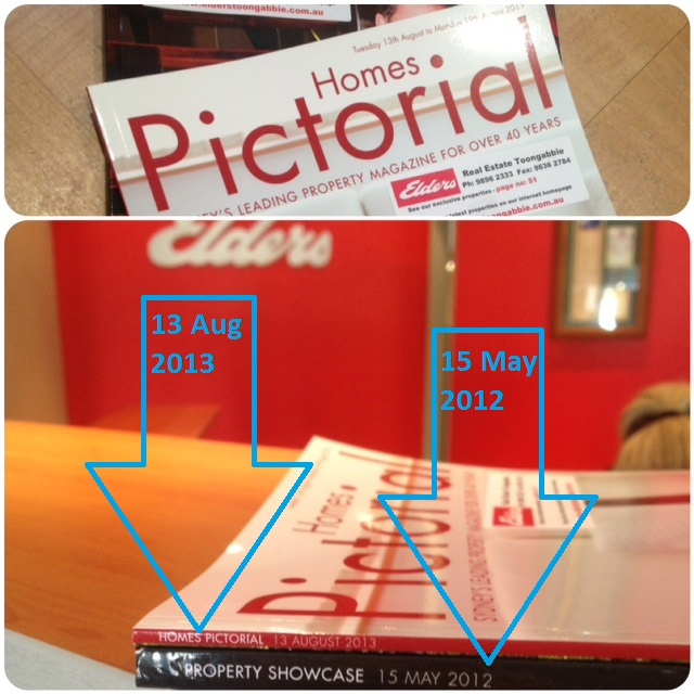 Paid print real estate advertising thinning out because of online property marketing