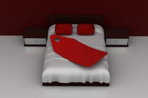 Luxury Bed With Price Tag